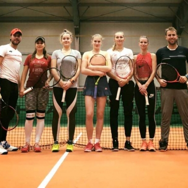 Brązowa drużyna Sopot Tenis Klub