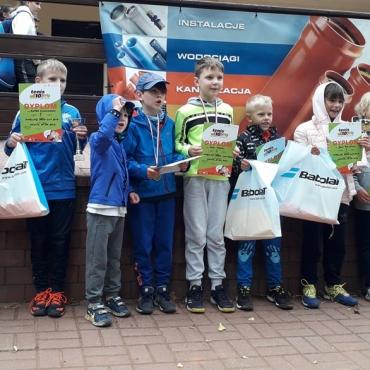 Nasi najmłodsi tenisiści rywalizowali w Gdyni.