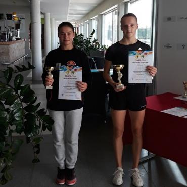 Weronika wygrywa turniej OTK.