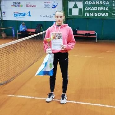 Weronika ponownie trzecia.