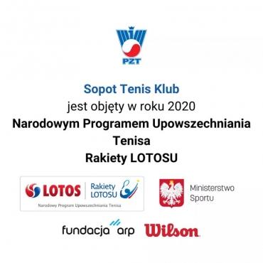 Narodowy Program Upowszechniania Tenisa Rakiety LOTOSU