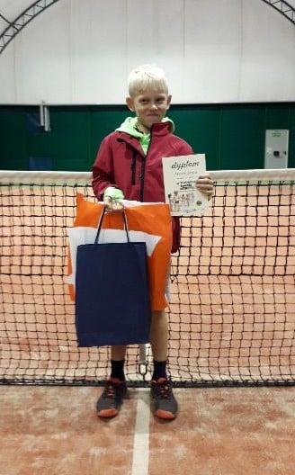 Maciek rozegrał dobry turniej w Szczecinku.