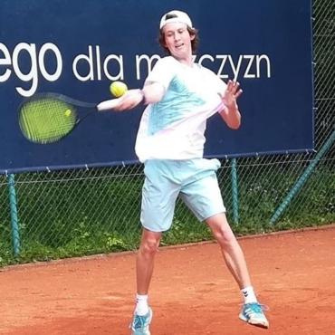 Marcel z brązowym medalem Halowych Mistrzostw Polski Juniorów.