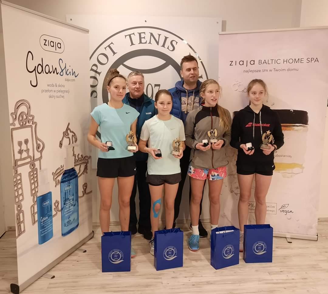 Inka najlepsza w singlu i deblu w OTK U14 Sopot Cup.