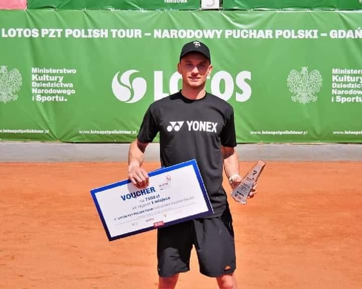 Kamil tryumfatorem pierwszego turnieju LOTOS PZT Polish Tour.