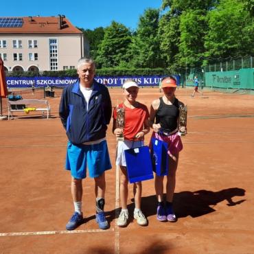 Maja i Maksymilian wygrali OTK Super Serie U12 Sopot Cup.
