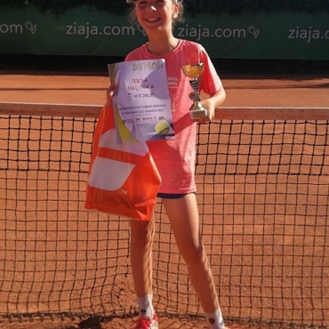 Irenka i Ignacy na podium Tenis 10.